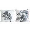 Cotton & Velvet Printed Pillows