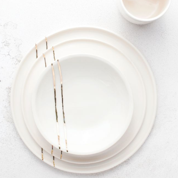 Porcelain Full Place Setting
