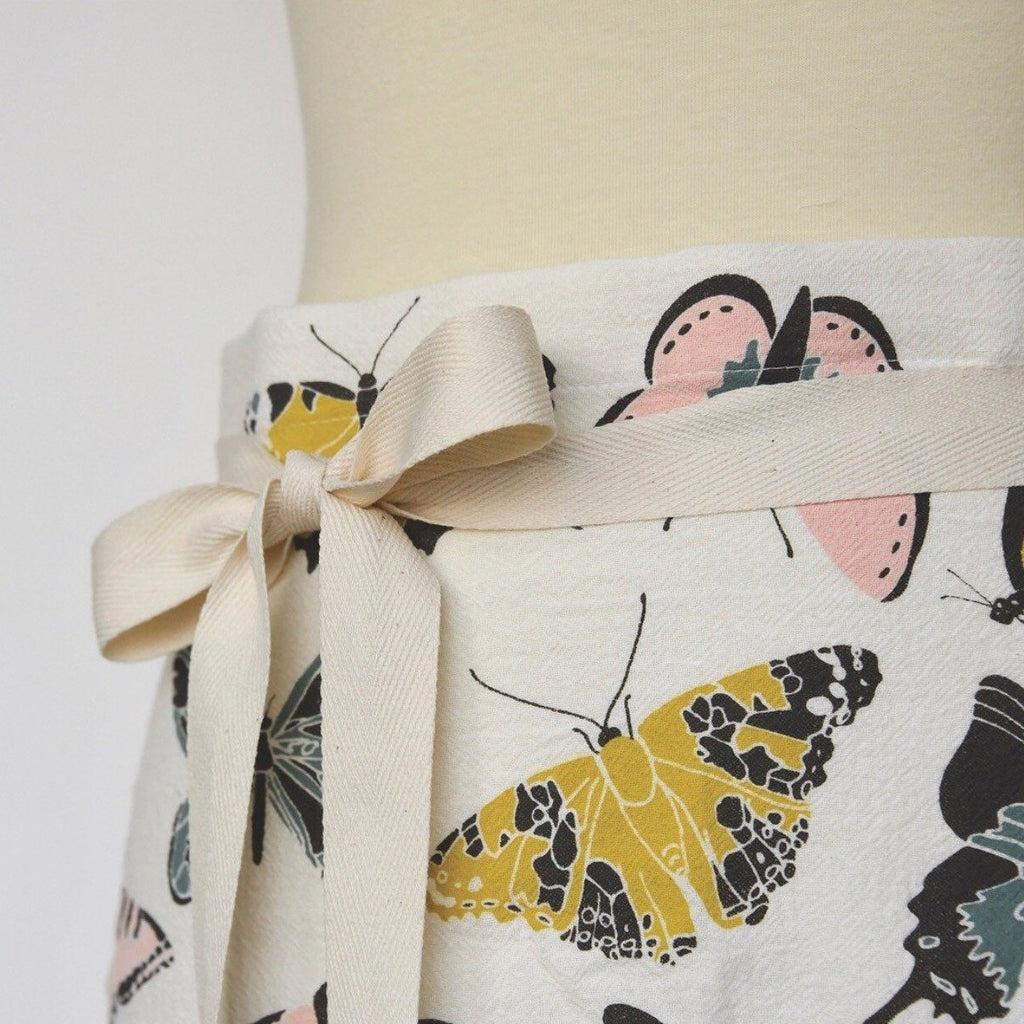 bistro apron from June & December; all natural, pre-shrunk and machine washable