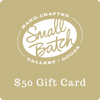 Gift card to use at Small Batch Gallery + Goods in New Bern NC