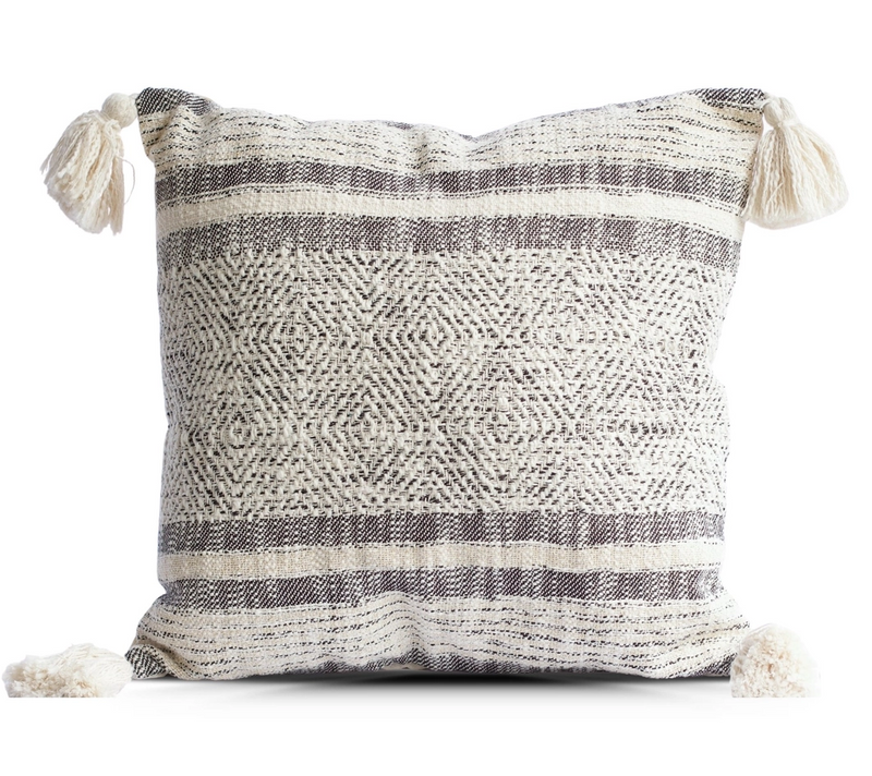 Diamond and Stripes Throw Pillow