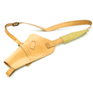 Victory Model Shoulder Holster RH Tan Stamped USN