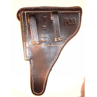 P-08 Luger Holster RH Black with tool