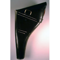 British Webley .455 Leather Holster RH Black