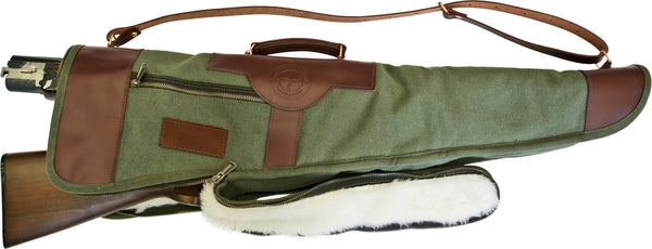 Over/Under Shotgun Case Green