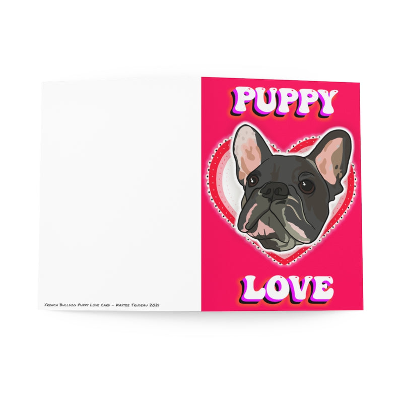 French Bulldog Puppy Love Card Pack