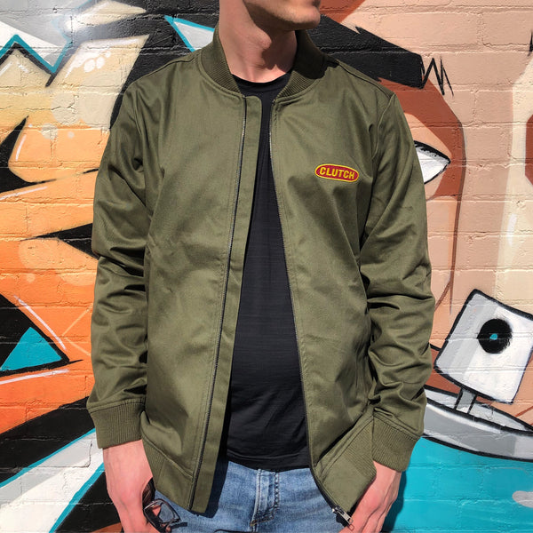 Army Green Bomber Jacket - Merch Jungle