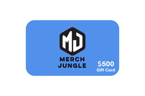 $500 Gift Card - Merch Jungle