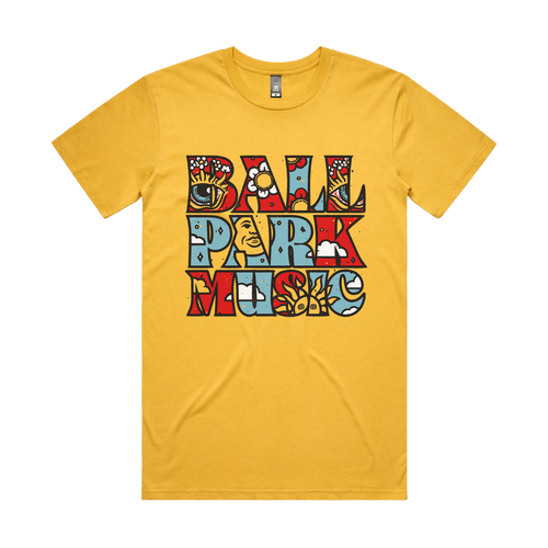 Sunny Tee - Yellow *PREORDER* - Merch Jungle