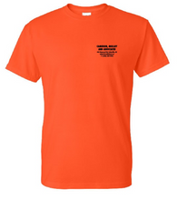 Construction tee - Orange - Merch Jungle