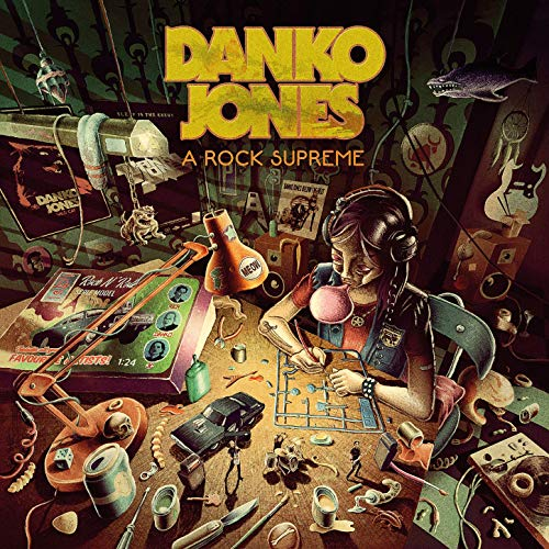 DANKO JONES - A Rock Supreme Vinyl CD - Merch Jungle