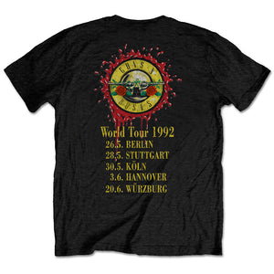 Use Your Illusion 1992 World Tour Tee - Merch Jungle