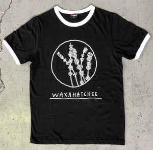 Waxahatchee - Black Logo Tee - Merch Jungle