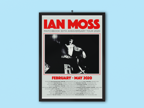 IAN MOSS - 2020 LTD EDITION SIGNED SCREEN PRINT - Merch Jungle