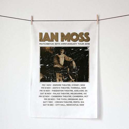 IAN MOSS - TOUR TEATOWEL - Merch Jungle