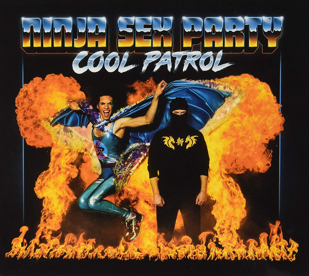Ninja Sex Party - Cool Patrol CD - Merch Jungle