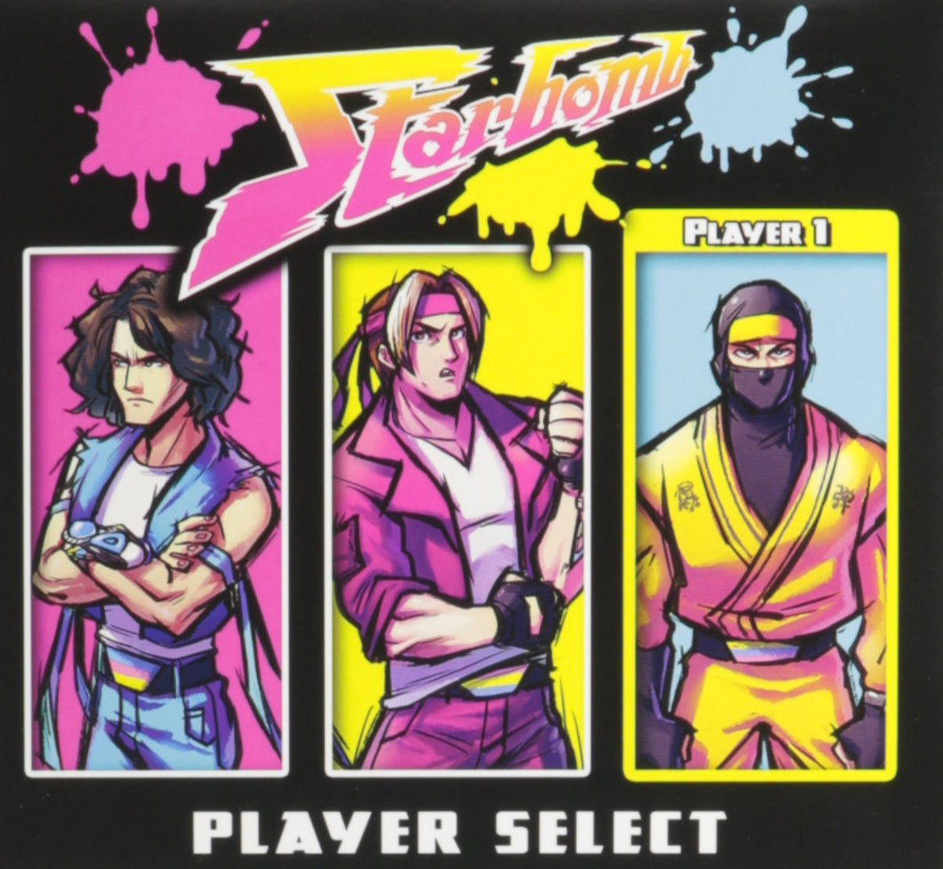 Star Bomb Player Select CD