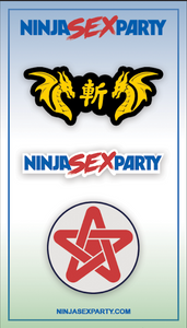 Ninja Sex Party - Pins