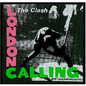 London Calling Patch - Merch Jungle