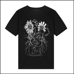 Batflower Twins Tee - Merch Jungle