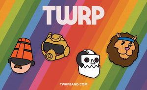 TWRP - Pins - Merch Jungle