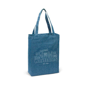 Denim Tote Bag - Merch Jungle