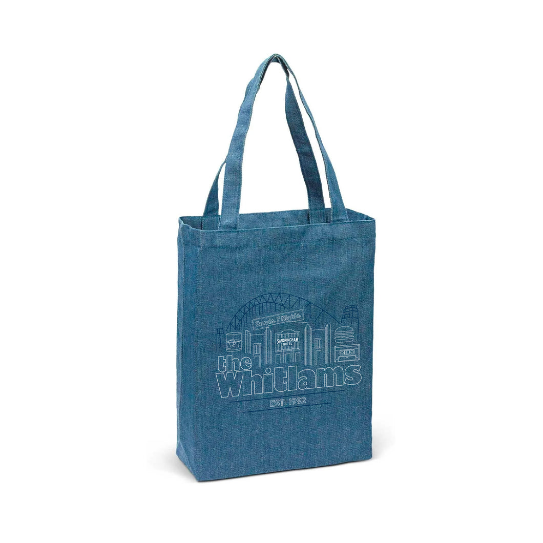 *PREORDER* Denim Tote Bag - Merch Jungle