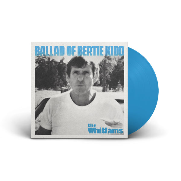"*PREORDER* Ballad of Bertie Kidd - Signed, Limited Edition 7"" Blue Vinyl - Merch Jungle"