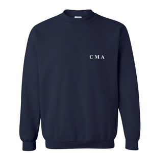 Construction Sweater - Navy - Merch Jungle