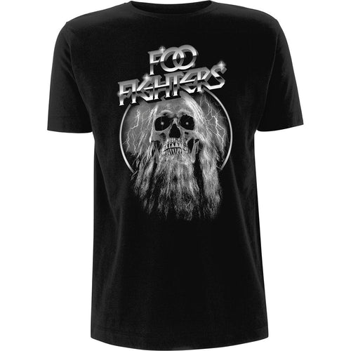 Bearded Skull Tee - Merch Jungle
