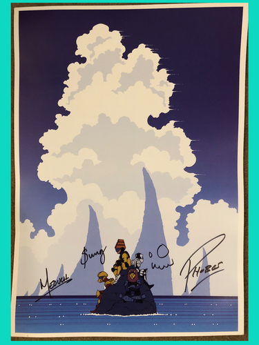 TWRP - Stranded - Signed Poster - Merch Jungle