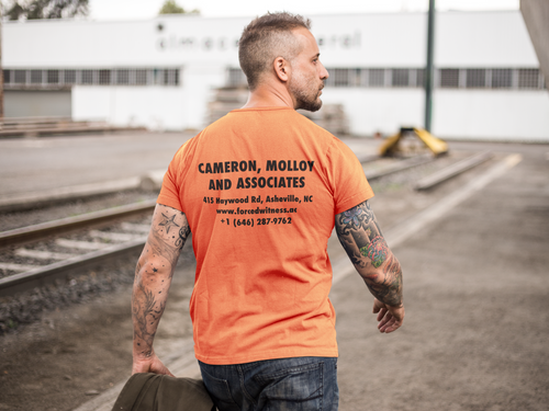 Construction tee - Orange