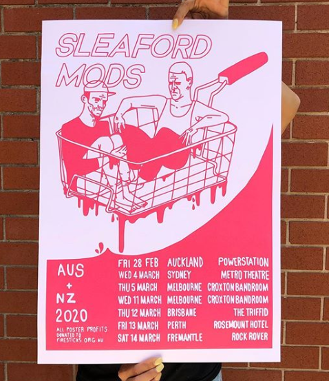 Sleaford Tour Poster - Merch Jungle
