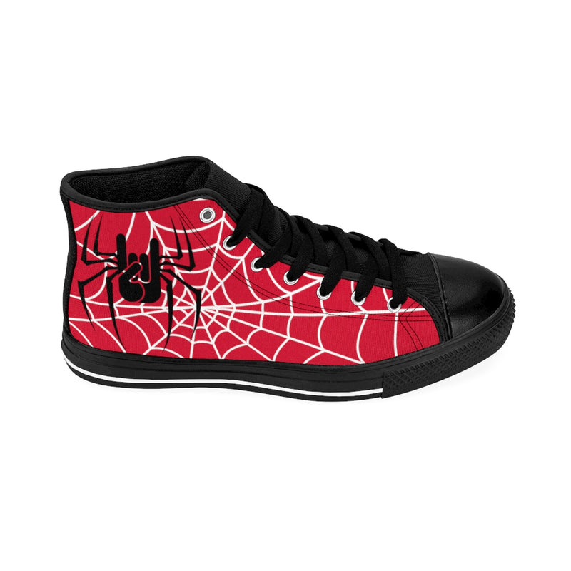 RED sneakers, baskets rouges, spiderweb, oh yeahhh, rock, metalhorns, metal, converse