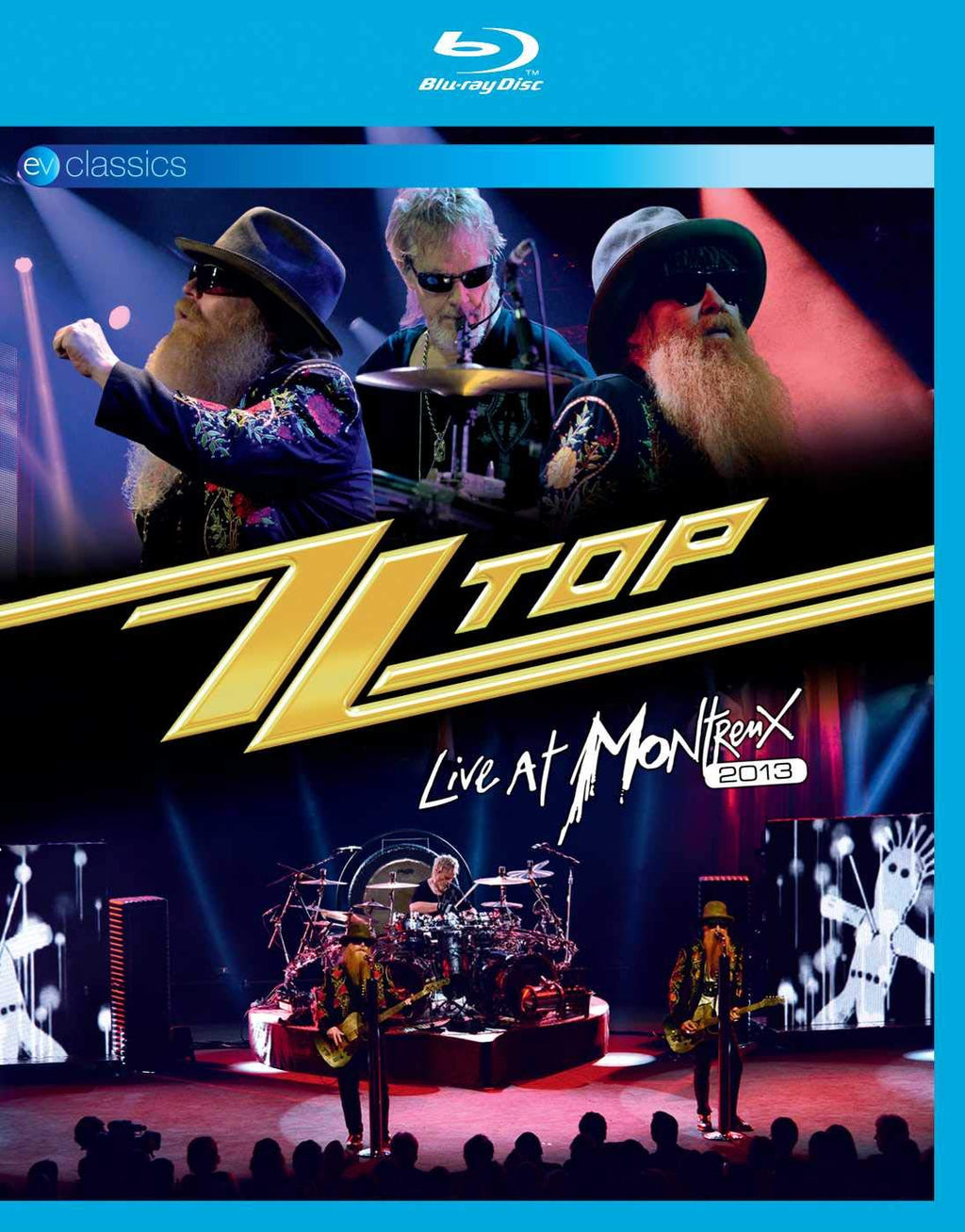 ZZ Top - Live at Montreux 2013 [Blu-ray]
