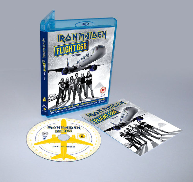 Iron Maiden-Flight 666-The Film [Blu-Ray]