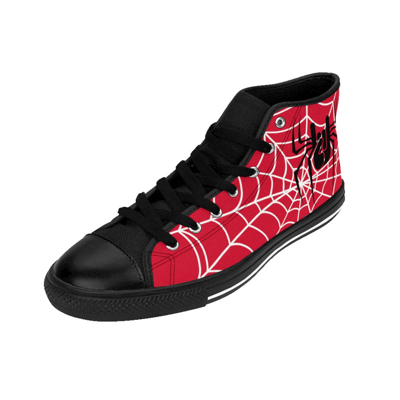 Baskets red spiderweb, oh yeahhh, rock, metalhorns, metal, converse