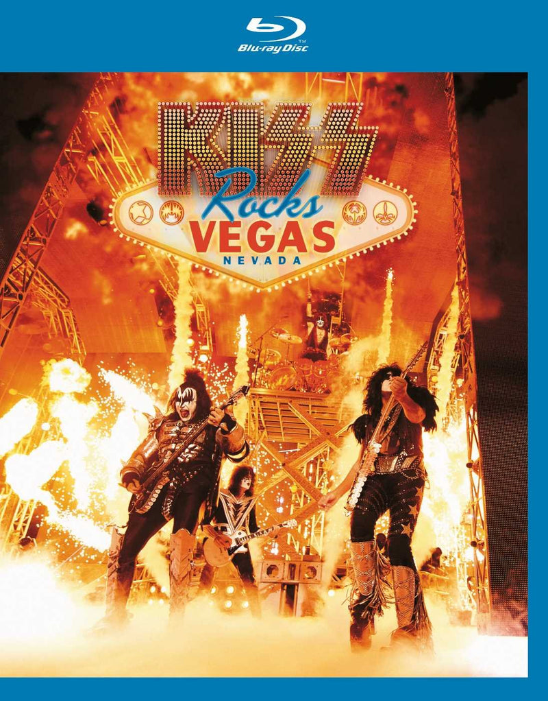 KISS Rocks Vegas - Live at the Hard Rock [Blu-ray]