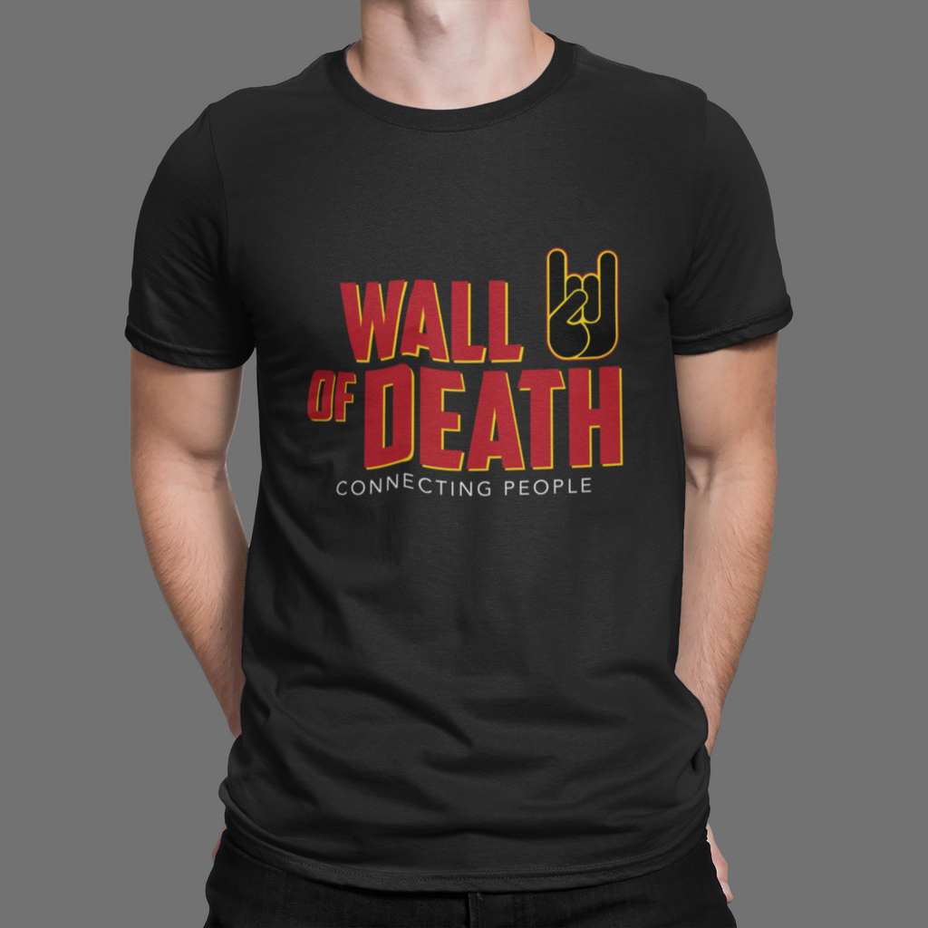 T-shirt Oh Yeahhh, Wall of death, Metal horns, metal sign, oh yeah, rock, metal