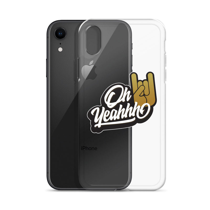 "Coque Oh Yeahhh ""Insigne"" pour iPhone"