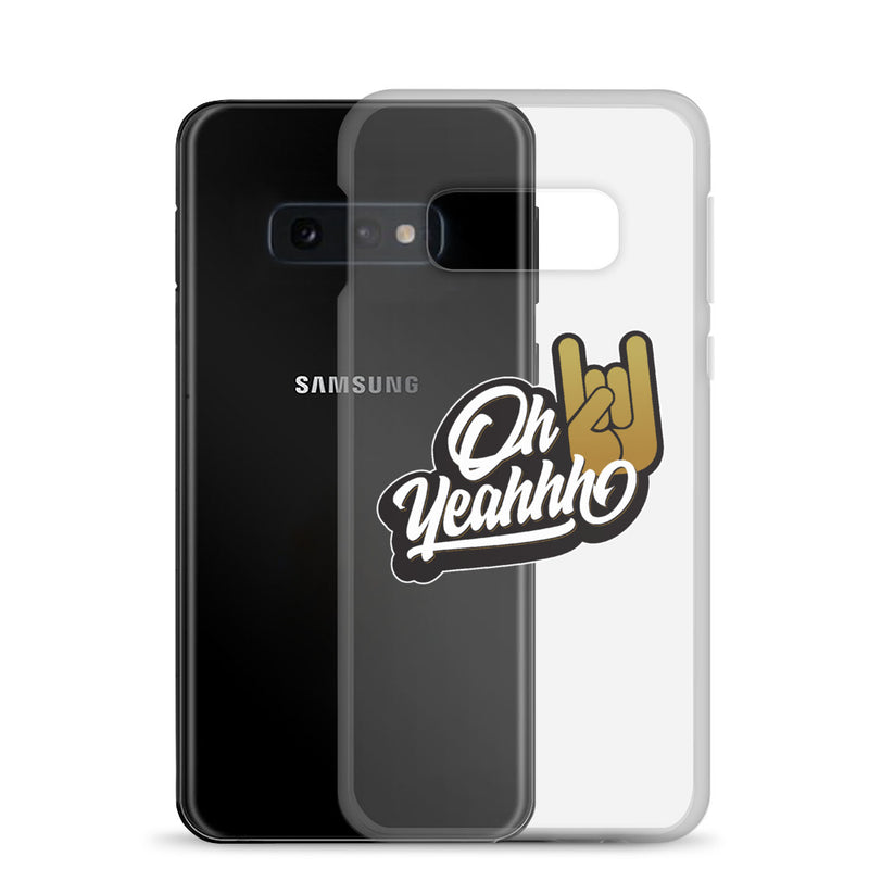 "Coque Oh Yeahhh ""Insigne"" pour Samsung"