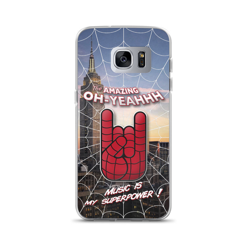 "Coque Oh Yeahhh ""Amazing"" pour Samsung"