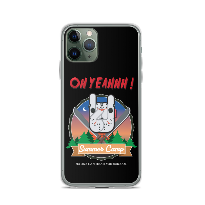 "Coque Oh Yeahhh ""Summer Camp"" pour iPhone"