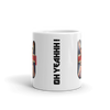 Mug, tasse céramique, uk, union jack, rock style, heavy metal, metal horns, devil sign