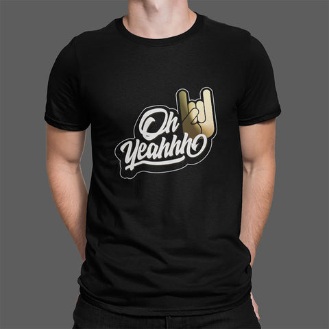 "T-shirt Homme  OH YEAHHH ""Remain untamed"""