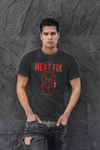 T shirt rock metal horns oh yeahhh netflix black