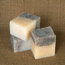 Exfoliating shave soap for women