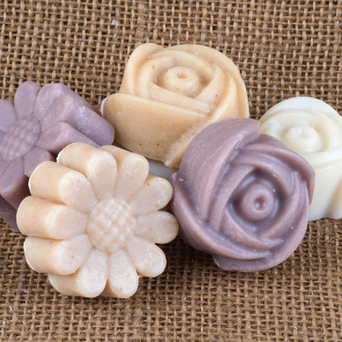 Soap for cleaning make-up brushes
