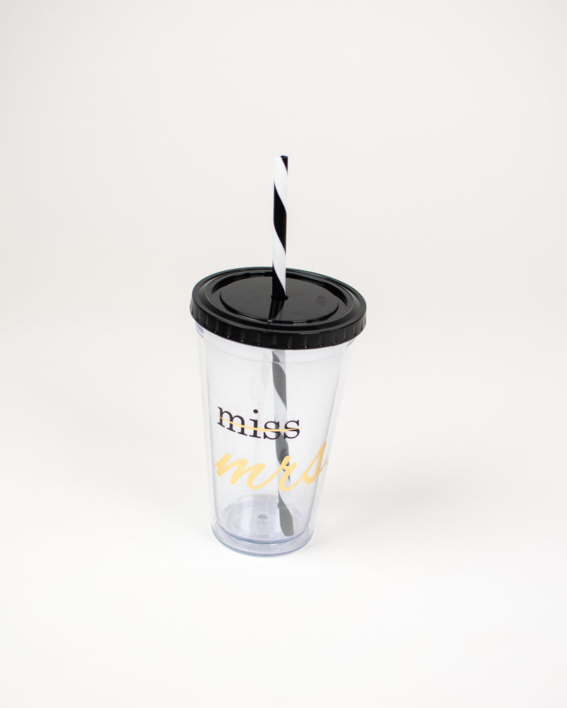 MISS to MRS. Tumbler Cup