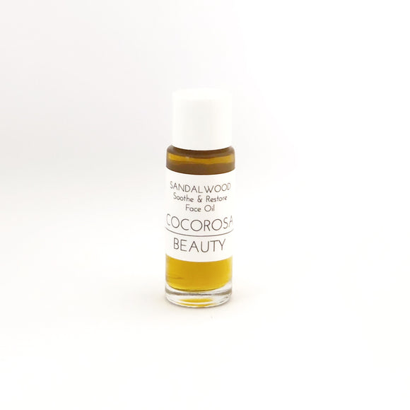 SANDALWOOD Soothe & Restore Face Oil 5ml MINI